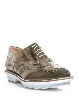 Wilmore metallic brogues