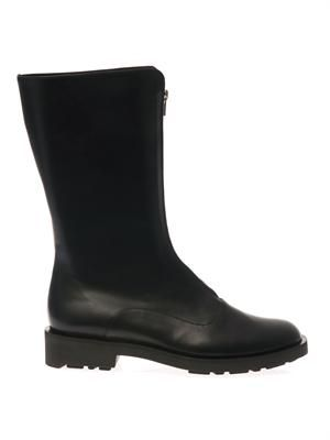 Estim leather boots