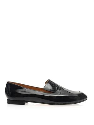 Siko patent leather loafers