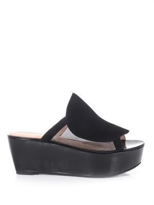 Felize suede wedges