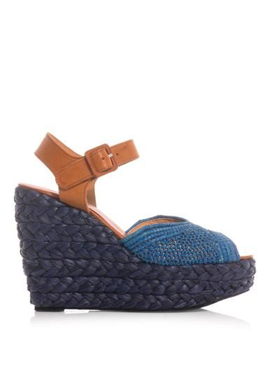 Robert Clergerie Diablo rope-wedge sandals