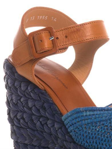 Robert Clergerie Diablo rope-wedge sandals