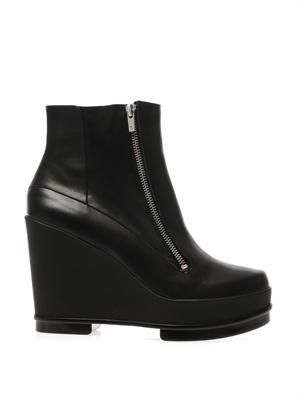 Sencio wedge boots