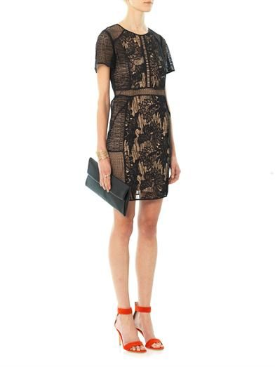 Rebecca Taylor Floral lace dress