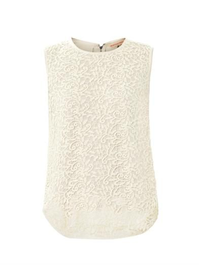 Rebecca Taylor Guipure lace sleeveless top