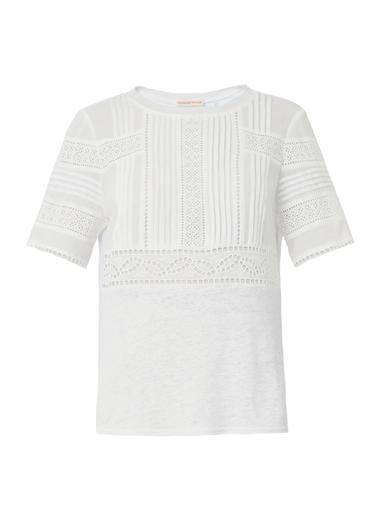 Rebecca Taylor Novelty broderie-anglaise T-shirt