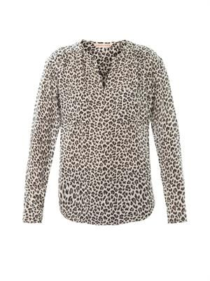 Wildcat silk blouse