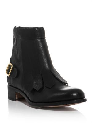 Vrony leather ankle boots