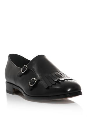 Zohra leather loafers