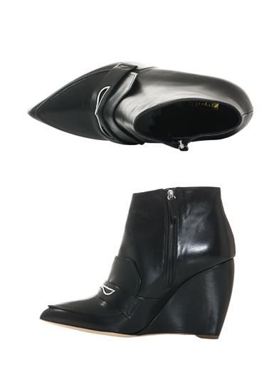 Rupert Sanderson Trevone point-toe wedge boots