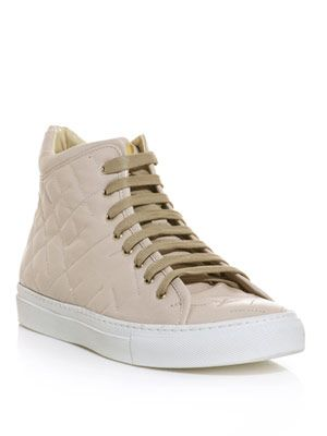 Imago high-top leather trainers
