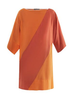 Odina colour-block dress