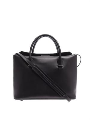 The Row Carry All leather tote