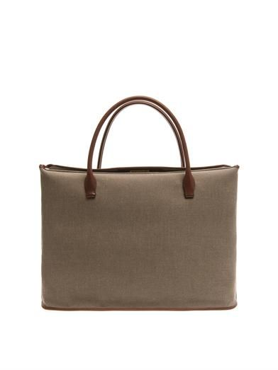 The Row Carry All cotton-drill tote