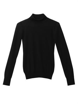 Fendral cashmere and silk-blend sweater