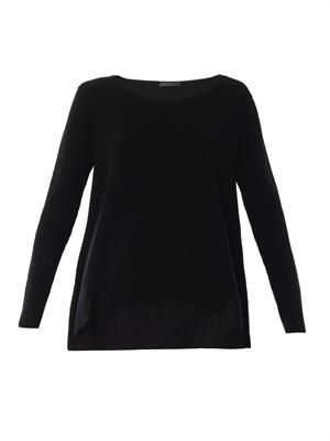 Camile cashmere-knit sweater