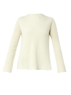 Ismenia wool and cashmere-blend sweater