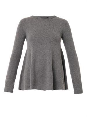 Sabelle A-line cashmere sweater