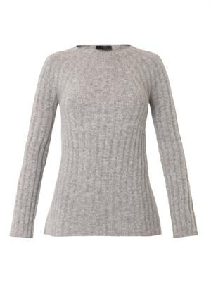 Ede ribbed-knit cashmere-blend sweater
