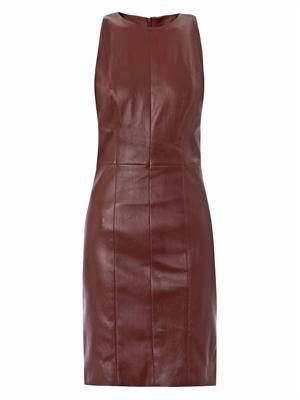 Sharlow leather dress