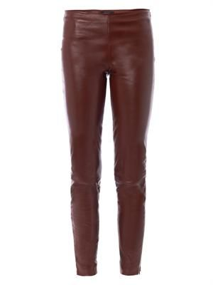 Notterly leather leggings