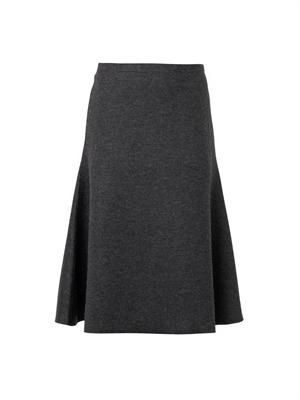 THE ROW Atale wool-blend midi skirt