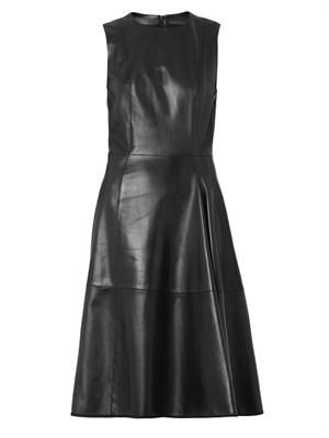 Ottane leather dress
