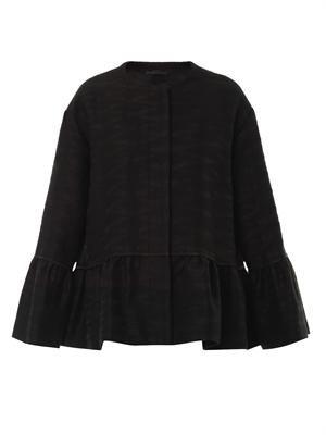 Refla peplum jacket