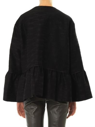 The Row Refla peplum jacket