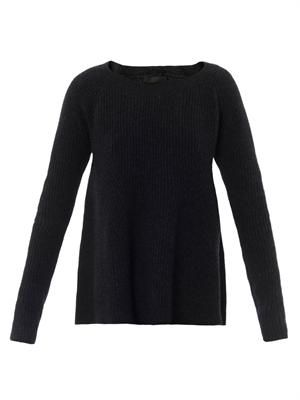 Ella ribbed-knit sweater