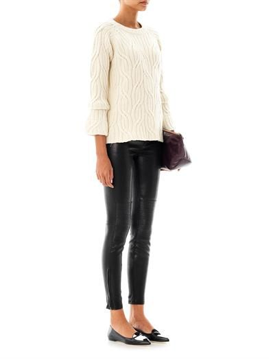 The Row Eden wool-cashmere sweater