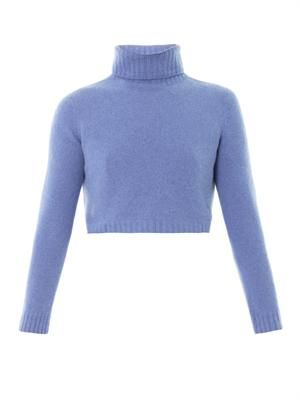 Nenette merino high-neck sweater