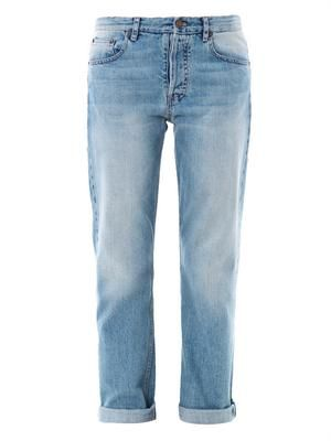 Ashland high-rise straight-leg jeans