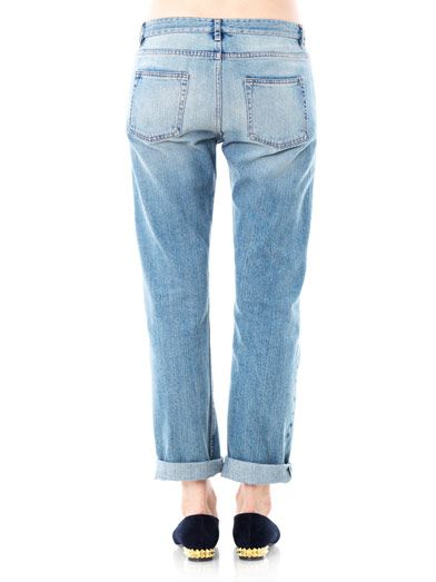The Row Ashland high-rise straight-leg jeans