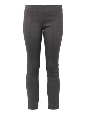 Crossore skinny-leg cropped trousers