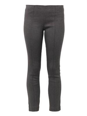 Crossore skinny-leg cropped trousers
