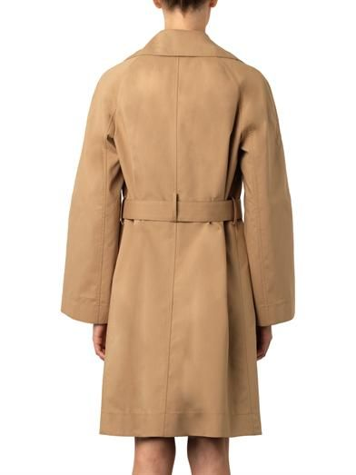 The Row Guyen double-faced cotton trench coat