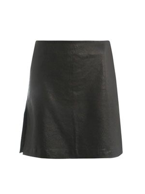 Maria leather skirt