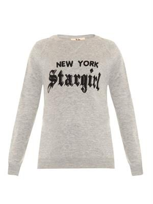 Kathy logo-embroidered sweater