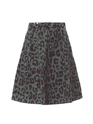 Veronique A-line skirt