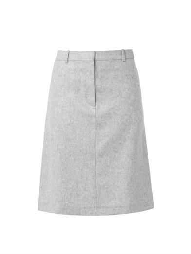 Rika Josefine wool-blend skirt