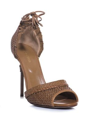 Indian woven-leather sandals