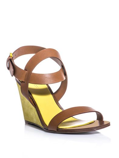 Sergio Rossi Sunrise wedge sandals