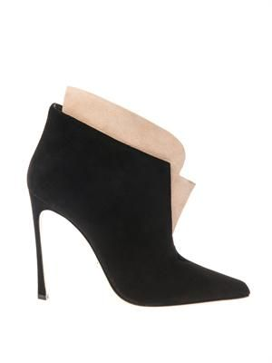 Donna suede ankle boots