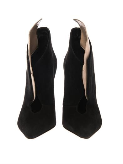 Sergio Rossi Donna suede ankle boots