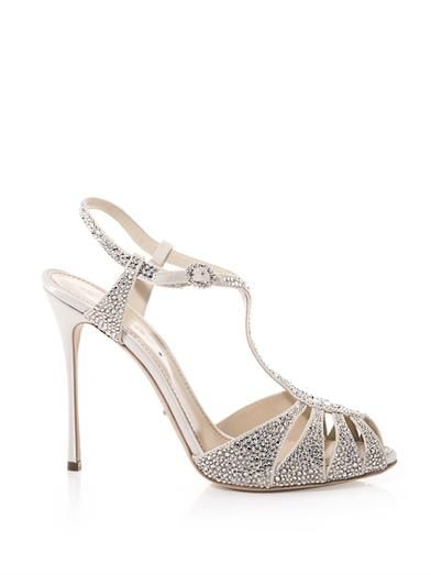Sergio Rossi Murmansk crystal-embellished sandals