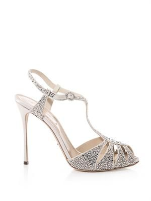 Murmansk crystal-embellished sandals