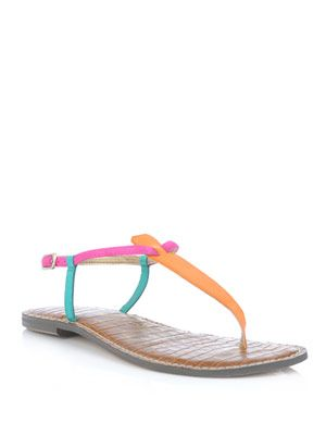 Gigi multi-colour sandals