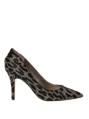 Zola calf-hair pumps
