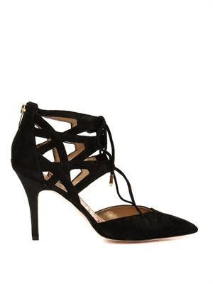 Zavier suede pumps
